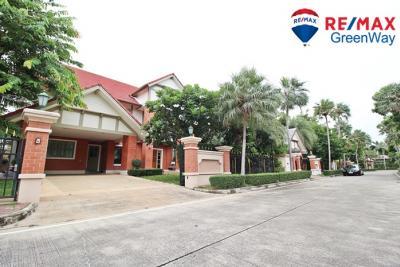 For SaleHousePinklao, Charansanitwong : Luxury house Ratchaphruek Pruek Phirom Regent Sathorn, new house, good condition, widened kitchen, 4 bedrooms, 126.9 sq m.