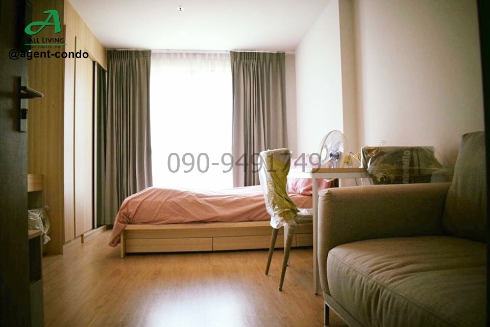 For RentCondoBangna, Lasalle, Bearing : Condo for rent, IDEO O2, beautiful room, ready to move in