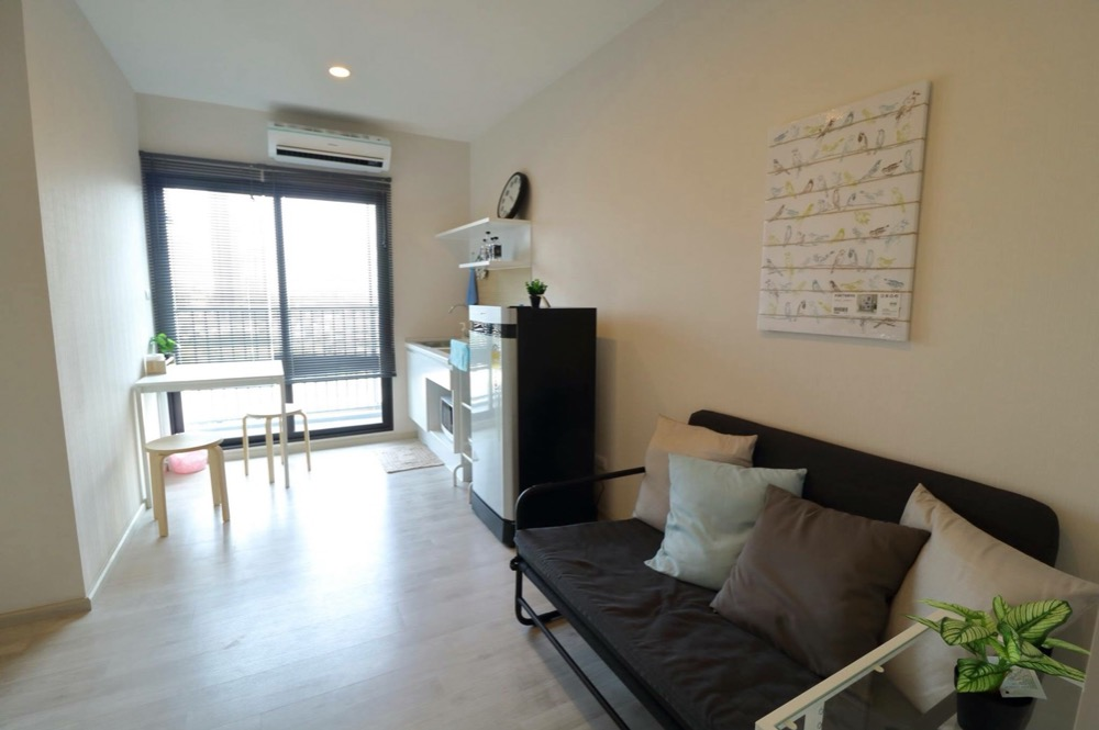 For SaleCondoRattanathibet, Sanambinna : Plum Condo Central Station Phase 1, fully furnished, ready to move in.