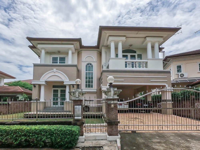 For SaleHouseRama 2, Bang Khun Thian : House for sale Dusita Rama 2 Village near Central Mahachai