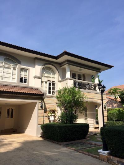 ขายบ้านบางใหญ่ บางบัวทอง ไทรน้อย : H256-ขายบ้านเดี่ยว 2 ชั้น หมู่บ้าน นันทวัน กาญจนาภิเษก 138 ตร.ว. บ้านสวย เฟอร์ครบ ใกล้เซ็นทรัลเวสต์เกต