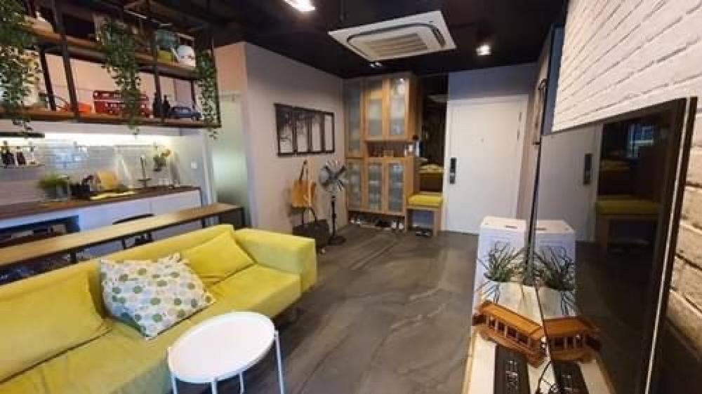 For SaleCondoOnnut, Udomsuk : Sale Elio Del Ray Sukhumvit 64, Building F, 1st floor, built-in furniture Fully renovated, ready to move in, 45.27 sqm., Cute price, only 4.39