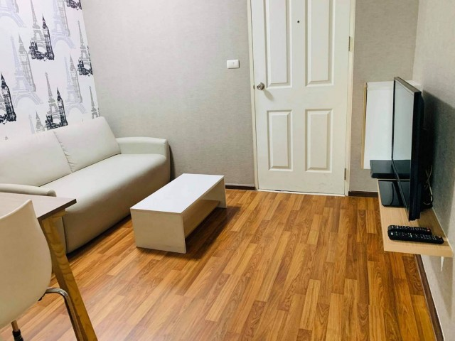 For SaleCondoKasetsart, Ratchayothin : KP-0078 Urgent sale! Condo U Ratchayothin, good location, fully furnished garden view room, near BTS Senanikom
