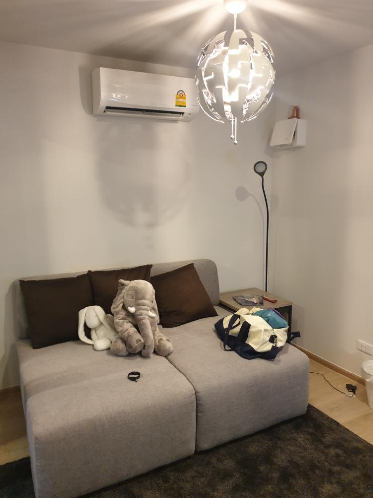 For RentCondoKasetsart, Ratchayothin : (Code B21086301) Condo for rent Elio Delmoss Phahonyothin34 1 bedroom + 1 living room + 1 bathroom 4th floor, Building B 12,000 / month