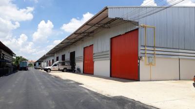 For RentWarehouseBangbuathong, Sainoi : Warehouse for rent, new construction, size 180 sq m., Ban Kluai-Sai Noi Road, Bang Bua Thong, Nonthaburi, for rent, a new warehouse built 180 square meters, not far from the municipality of Phimonrat, Wat Lat Pladuk, Sai Noi, Sai Yai Temple, Central Westg