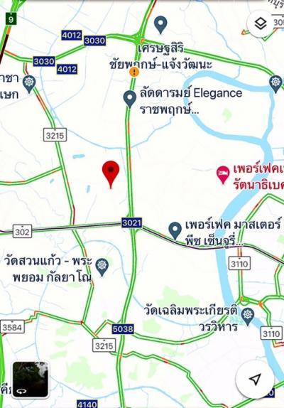 For SaleLandBangbuathong, Sainoi : ขายที่ดินถนนราชพฤกษ์ 10 ไร่ ใกล้โรงเรียนเด่นหล้า บุญถาวร ซอยบางรักน้อย2 นนทบุรี