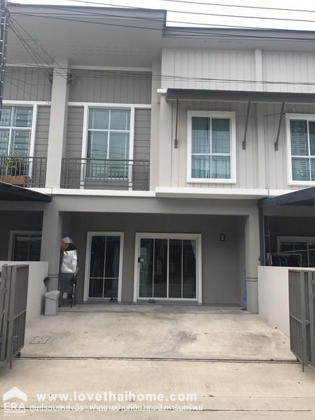 For SaleTownhouseRama 2, Bang Khun Thian : 2 storey townhouse for sale on Bang Khun Thian Road - Chai Thale Soi Thian Talay 7 Intersection 6, Pruksa Ville Village 80 Tha Kham - Rama 2 Area 21.4 square wa Sell 3.36 million baht, new project, beautiful house, near Big C Rama 2, Central Rama 2.