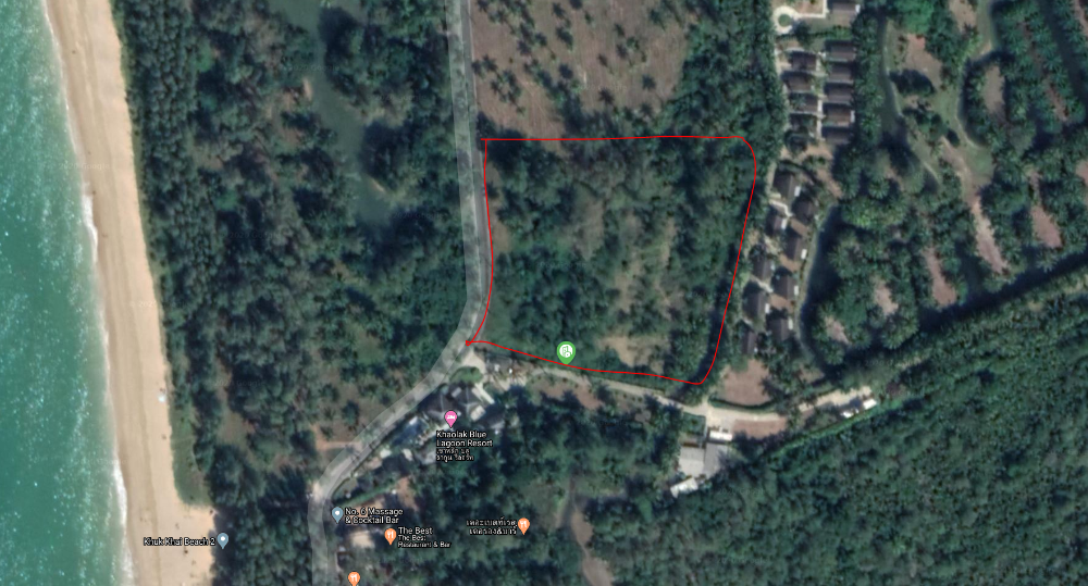 For RentLandPhangnga : Khao Lak sea view land with large road frontage for long-term rent