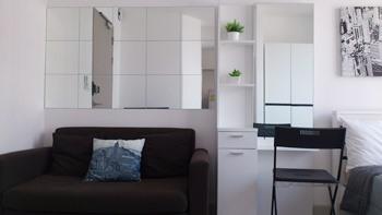 For RentCondoOnnut, Udomsuk : M2770-Condo for rent, IDEO Mobi, Sukhumvit 81, near BTS On Nut. + Washing machine ready