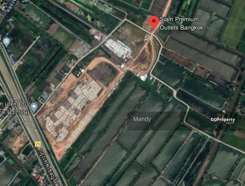 For SaleLandLadkrabang, Suwannaphum Airport : Land 80Rai, only 4MTHB/Rai Luang pang-Lad Krabang Samutprakarn, near Siam Premium Outlet