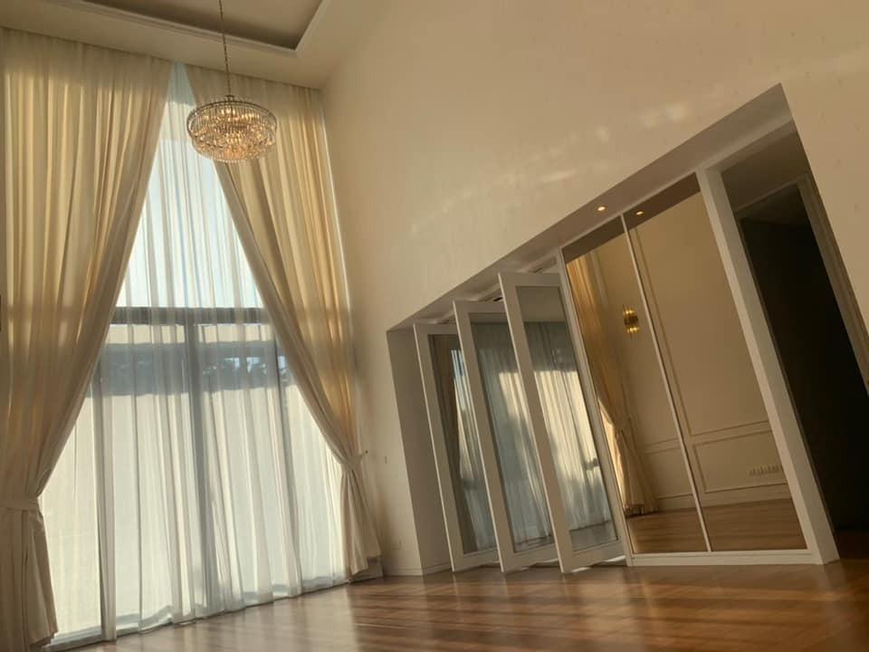 ขายคอนโดสาทร นราธิวาส : ขายพร้อมผู้เช่า The Sukhothai Residence คอนโด Luxury ใจกลางสาทร (ห้อง Duplex เพดานสูง แต่งสวย