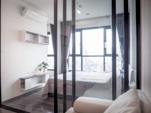 เช่าคอนโดอ่อนนุช อุดมสุข : [ ให้เช่า For Rent ] The Base Park west 77, BTS อ่อนนุช, 1 ห้องนอน 26 ตร.ม, ชั้นสูง
