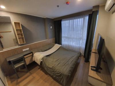 เช่าคอนโดท่าพระ ตลาดพลู : ให้เช่าคอนโด ยู ดีไลท์ @ ตลาดพลู สเตชั่น 30 ตารางเมตร 1 ห้องนอน 1 ห้องน้ำ ชั้น 30 ตึก A