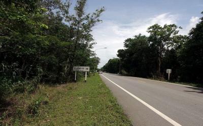For SaleLandTrat : Land for sale on Sukhumvit Road, Trad, 20 rai.