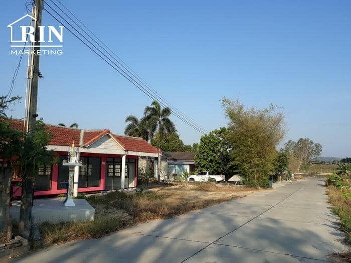 ขายที่ดินพัทยา ชลบุรี : ที่ดิน 390 ตรว พร้อมบ้านเดี่ยว พัทยา ใกล้อ่างเก็บน้ำมาบประชัน