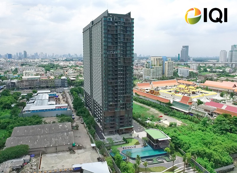 For SaleCondoRama3 (Riverside),Satupadit : Condo for sale, U Delight Residence Riverfront Rama 3, riverfront room (Riverfront), there is a shuttle service to and from Chong Nonsi BTS station.