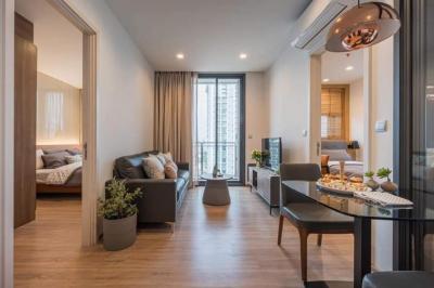 For RentCondoSapankwai,Jatujak : Very nice room 🔥 Condo for rent‼ The Line Phahon-Pradipat, near BTS Saphan Khwai, 2 bedrooms, 1 bathroom, area 53 sq.m., 19th floor.