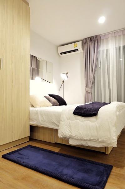 For RentCondoSamrong, Samut Prakan : A1392 For rent Tropicana Condo (Tropicana) | 1 bedroom +1 multipurpose room * BTS Erawan.