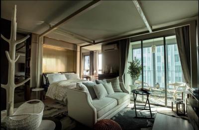 For RentCondoSiam Paragon ,Chulalongkorn,Samyan : +++ Urgent rent +++ Ideo Q Chula Samyan ** 1 bedroom, 34 sq m, fully furnished, ready to move in.