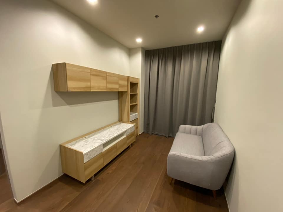For RentCondoAri,Anusaowaree : Condo for rent, IDEO Q Victory (IDEO Q VICTORY) - 2 bedrooms, 1 bathroom - Size 45 sqm. - Floor 33 - Fully furnished - Complete electrical appliances Price 35,000 baht / month