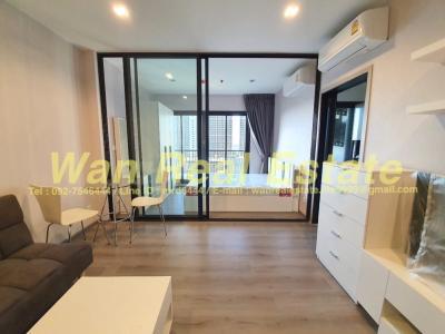 For RentCondoRattanathibet, Sanambinna : Condo for rent politan rive along the Chao Phraya River, beautiful view, size 31 sq.m.