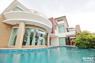 ขายบ้านนวมินทร์ รามอินทรา : ขายบ้านเดี่ยวหรู มบ.ปัญญาอินทรา P5 บ้านมุม แปลงใหญ่ เฟอร์ครบ น่าอยู่ ราคา 55 ล้านเท่านั้น