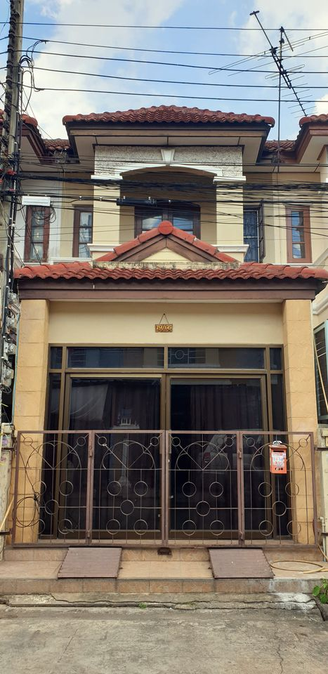 For SaleTownhouseNawamin, Ramindra : Cheap sale! 2-storey townhouse, Ramintra 71 Village, Project 2 (Khubon 27, Soi 39)