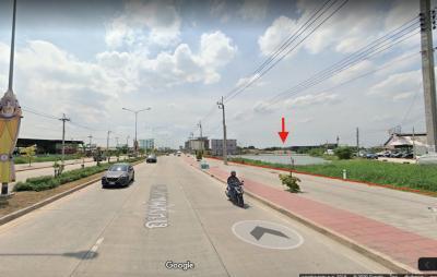 ขายที่ดินพัฒนาการ ศรีนครินทร์ : ที่ดินติดถนนพัฒนาการตัดใหม่ 6-3-17 ไร่ ทำเลดี แปลงสวย การเดินทางสะดวก