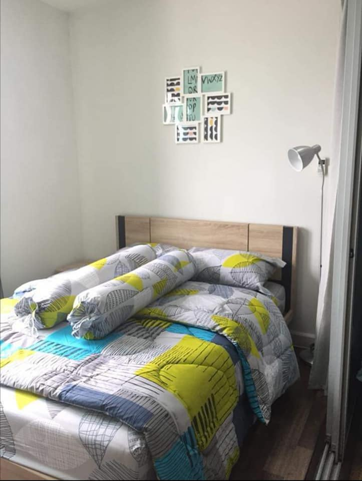For RentCondoBangna, Lasalle, Bearing : Condo for rent A space me Bangna, corner room opposite IKEA, on the main road