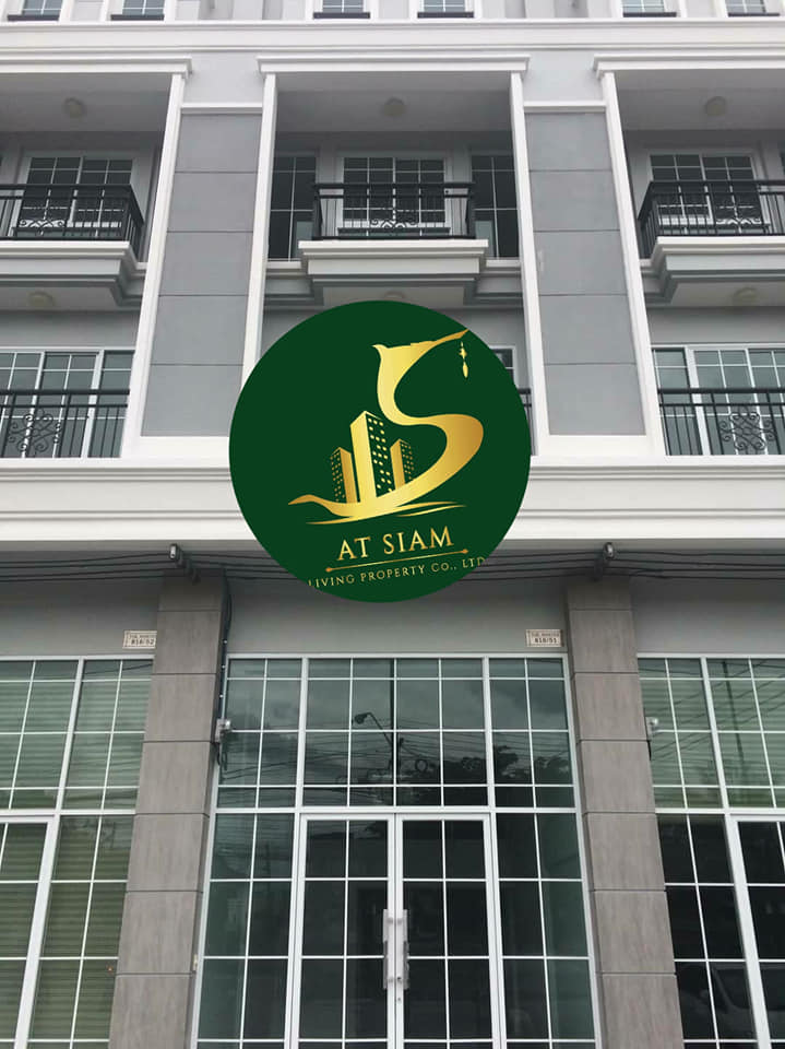 For RentShophouseBangna, Lasalle, Bearing : Commercial building for rent, the Master Udomsuk project, size 4 and a half floors 0646654666.