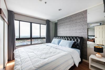 For RentCondoOnnut, Udomsuk : Condo for rent, Lumpini Ville, Sukhumvit 77-1, 20th floor, east, room size 35 square meters, 1 bedroom, 1 bathroom