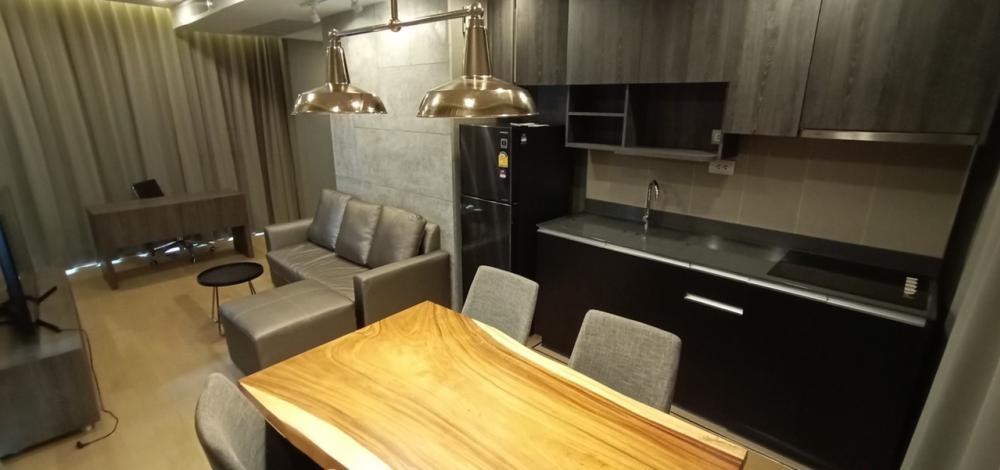 For RentCondoSiam Paragon ,Chulalongkorn,Samyan : For rent Ashton Chula-Silom 2Bedroom 66sq.m. Beautiful 45,000 THB MRT samyan
