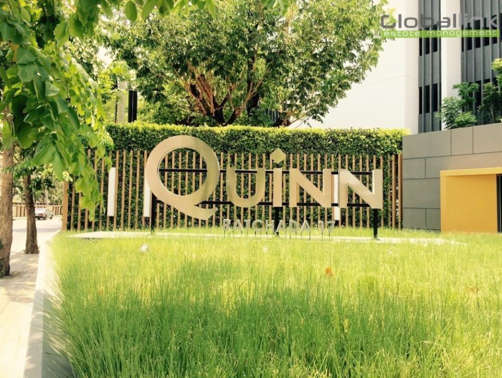 For RentCondoRatchadapisek, Huaikwang, Suttisan : ( GBL0727 )  Room For Rent Project name :   Quinn Condo Ratchada🔥Hot Price🔥 25,000  baht