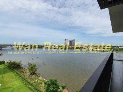 เช่าคอนโดรัตนาธิเบศร์ สนามบินน้ำ พระนั่งเกล้า : ให้เช่าคอนโด politan breez แบบ 2 ห้องนอน 60 ตร.ม.ริมแม่น้ำ วิวแม่น้ำ 270 องศา ตกแต่งสวยครบพร้อมอยู่(โครงการใหม่)