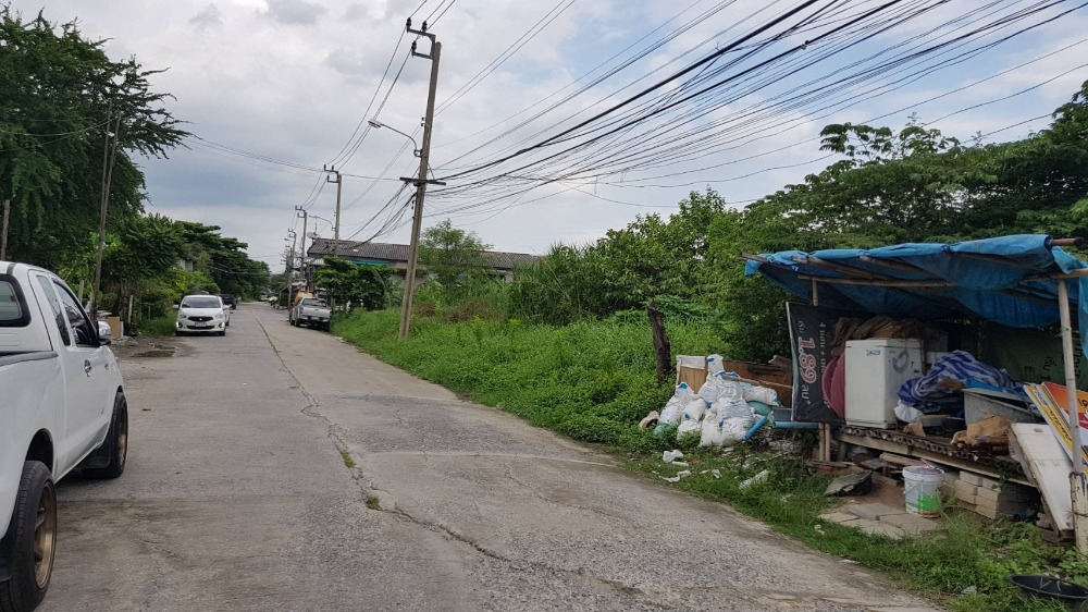 For SaleLandRamkhamhaeng,Min Buri, Romklao : 2 Rai Land for SALE at Charoen Pattana 4!! Can build 8-10 Houses to Sell!!