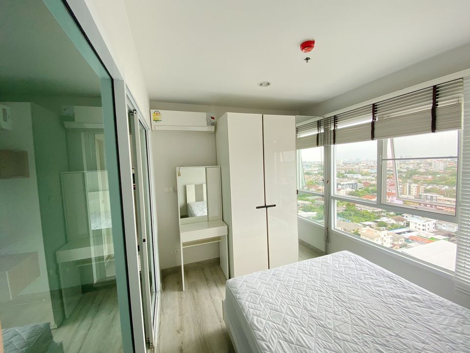 For RentCondoOnnut, Udomsuk : For Rent Regent Orchid Sukhumvit 101, just 300 m. To BTS Punnawithi, high floor, beautiful view, furniture and electrical appliances.