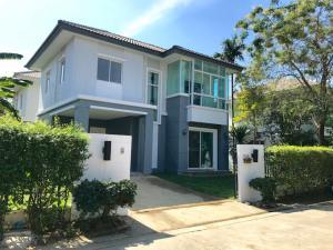 For SaleHouseBangbuathong, Sainoi : Single house 56 sq m., new renovation, ready to move in. Near the Purple Line, Khlong Bang Phai Station, Pruksa Village University
