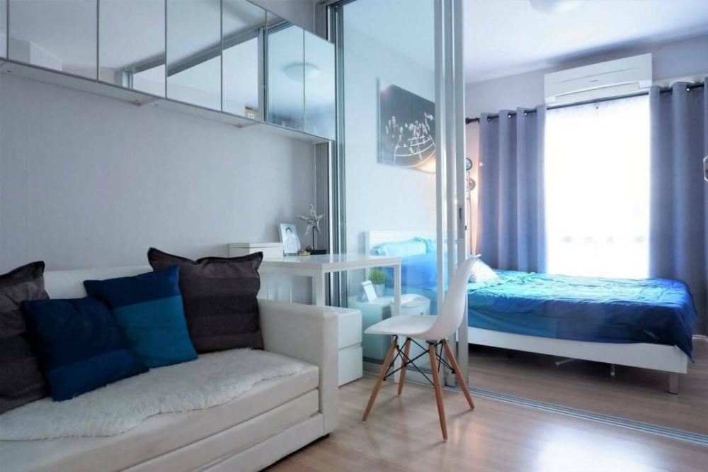 For RentCondoLadprao101, The Mall Bang Kapi : For rent, beautiful room, Plum Ladprao 101, Building L, 4th floor, corner room, north side