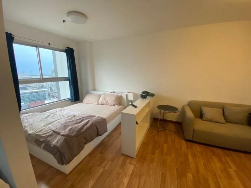 For SaleCondoRattanathibet, Sanambinna : Sale The Trust Condo Ngamwongwan 24 sqm. 1 bedroom, 1 bath, 1.43 million, beautiful room, ready to move in.