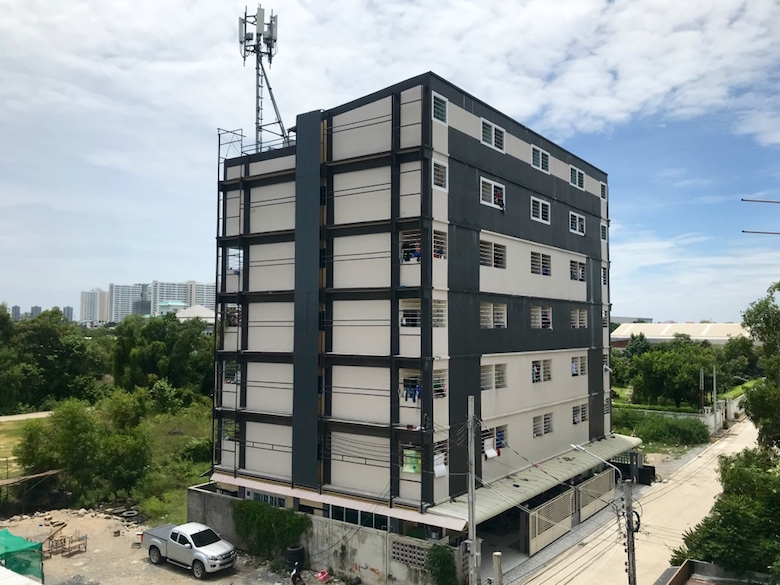 For SaleBusinesses for saleChengwatana, Muangthong : Apartment, 86 rooms, behind Robinson Sri Shahman Full tenants throughout the building, age 5 years