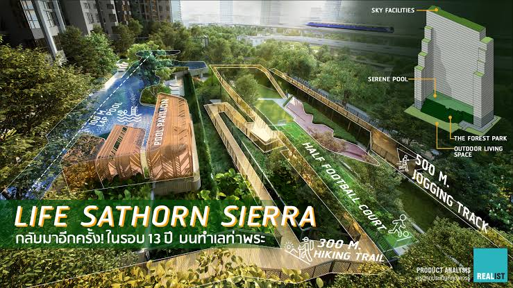 For SaleCondoThaphra, Wutthakat : Life Sathorn Sierra, the price is reduced by a million!