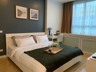 For RentCondoRama9, RCA, Petchaburi : Condo for rent TC Green Rama 9 (For rent TC Green Condo), near Mrt Rama 9, furniture + appliances, fully / ready to move in