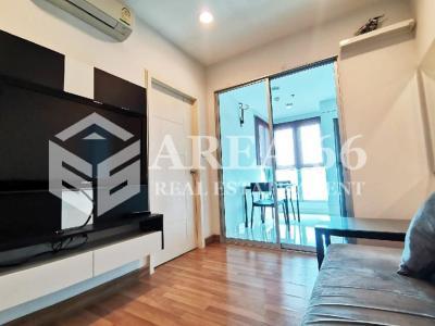 For RentCondoRatchadapisek, Huaikwang, Suttisan : 🔥 Very cheap, beautiful room for rent, Centric Sutthisan, condo next to MRT