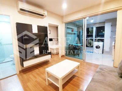 For RentCondoRatchadapisek, Huaikwang, Suttisan : ⭐ Big room, beautiful decoration for rent, Centric Suthisan, condo next to MRT