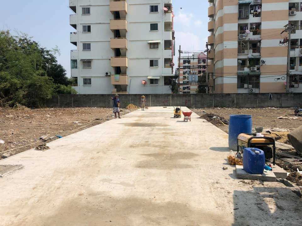 For SaleLandLadprao 48, Chokchai 4, Ladprao 71 : Land for sale, very good location !!!! Wide page, suitable for building a townhouse, townhome or home office, detached house, condo, dormitory