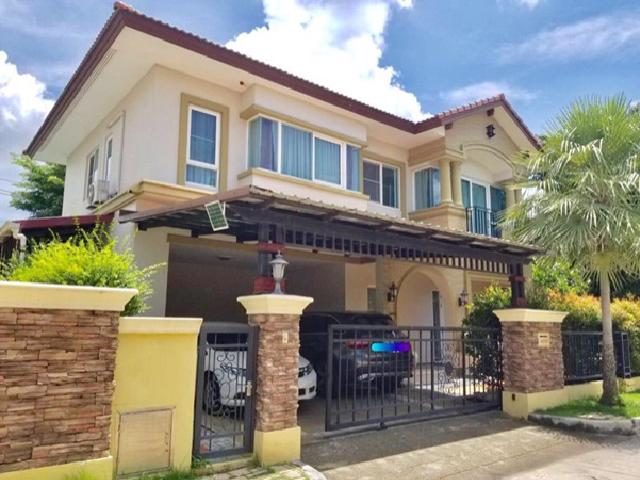 For SaleHouseBang kae, Phetkasem : House for sale, Laddarom Elegance Village, Wongwan-Sathorn, large house, luxury house, fully furnished, ready to sell, special price, Laddarom Elegance Wongwan-Sathorn For Sale