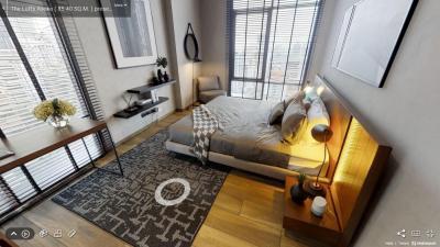 เช่าคอนโดสุขุมวิท อโศก ทองหล่อ : +++เช่าด่วน+++ The Lofts Asoke **  2 ห้อง นอน  84 ตร.ม. แต่งสวย คุมโทน แต่งครบ!!!