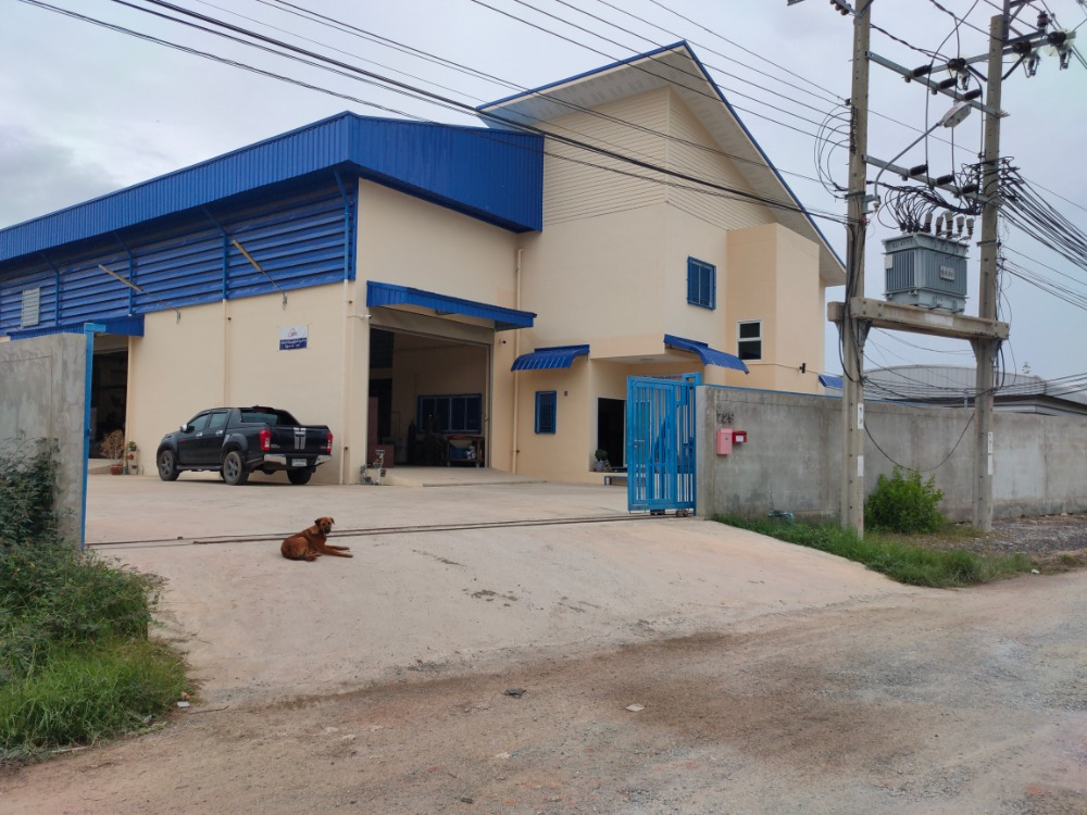 For SaleFactorySamrong, Samut Prakan : Factory, warehouse, office and worker accommodation for sale, area 500 square meters, Ban Khlong Suan Subdistrict Phra Samut Chedi District Samut Prakan Province