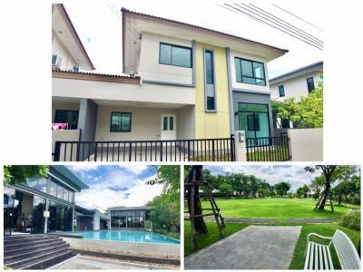 For SaleHouseBangbuathong, Sainoi : Casa Ville Pinklao-Srirat Sell cheaper than the project The new house has never lived.