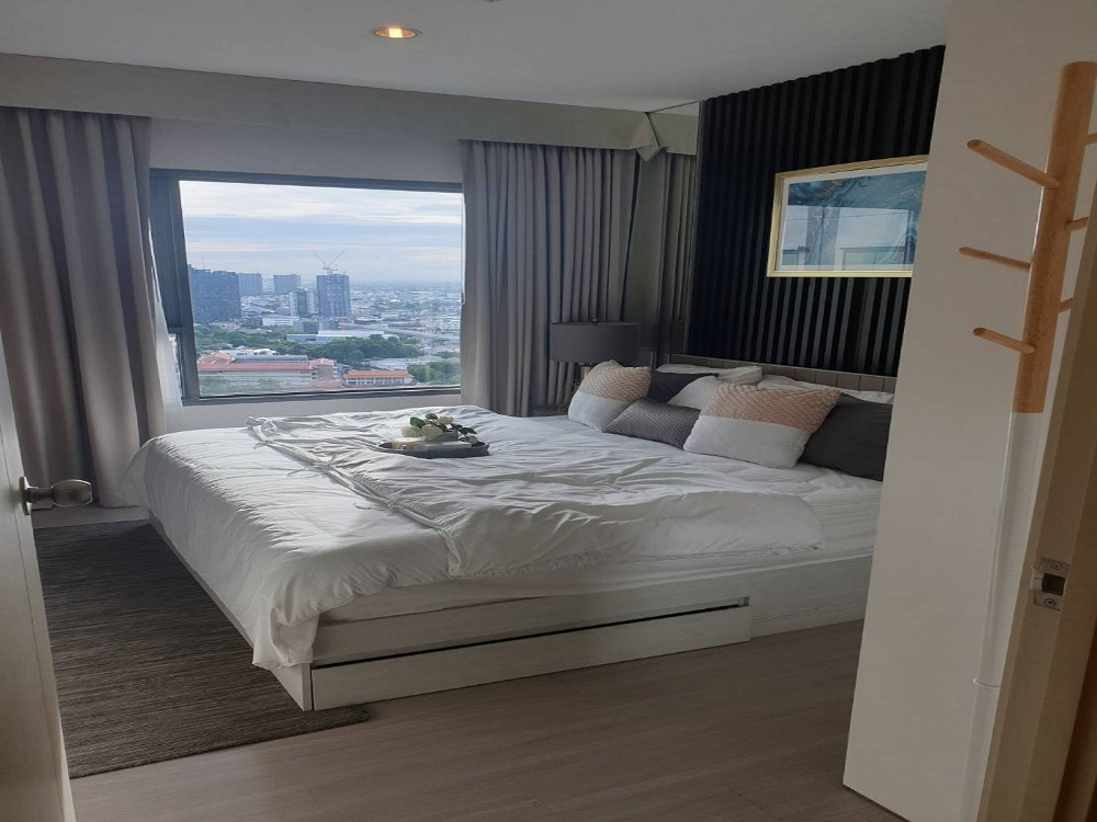 For SaleCondoThaphra, Wutthakat : The cheapest sale before closing the Aspire Sathorn-Ratchaphruek project. Close to BTS Bang Wa, fully furnished. Last chance, hurry